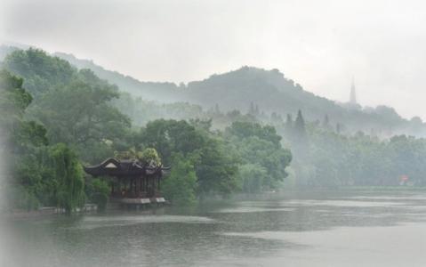 读诗 水光潋滟晴方好 山色空蒙雨亦奇