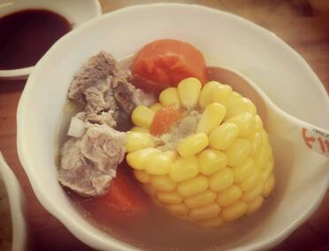 电热杯熬汤 电热杯熬萝卜玉米排骨汤步骤